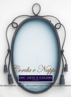 Specchio ferro battuto decorare la tua casa for Specchio in ferro battuto