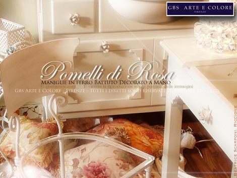 Maniglie in ferro battuto pomelli pomoli grandi - Pomelli per mobili bagno ...