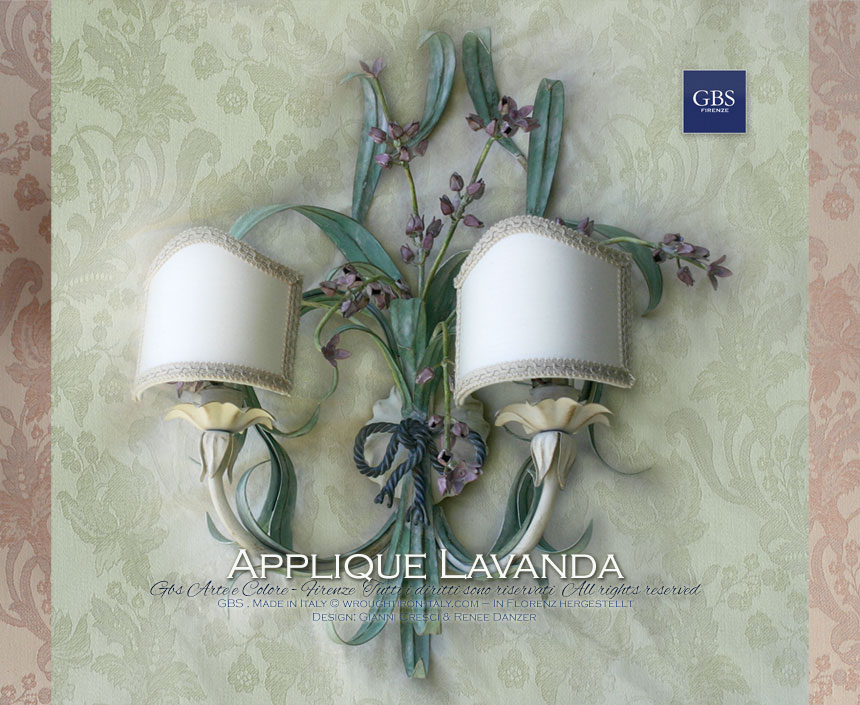 Applique lavanda gbs firenze casa