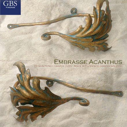 Fermatenda Embrasse Acanthus. Collezione Alessandria. Foglie D'Acanto.