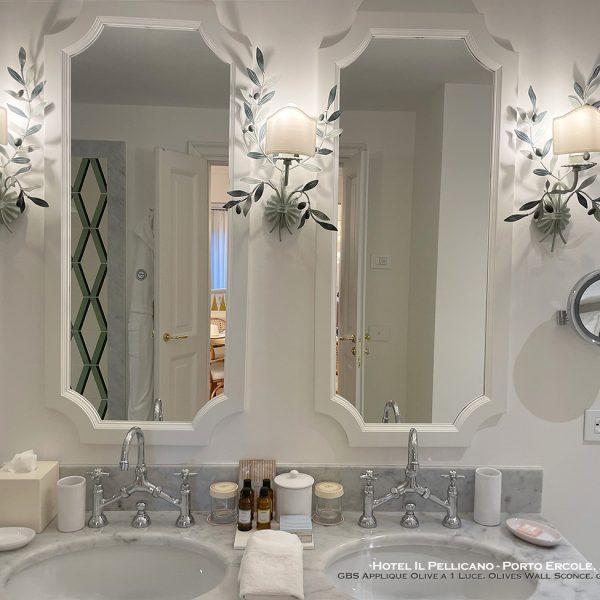 Hotel Il Pellicano - Porto Ercole, Argentario GBS Applique Olive a 1 Luce. Olives Wall Sconce. gbsfirenze.com