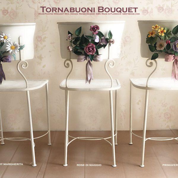 Sedia Tornabuoni Bouquet