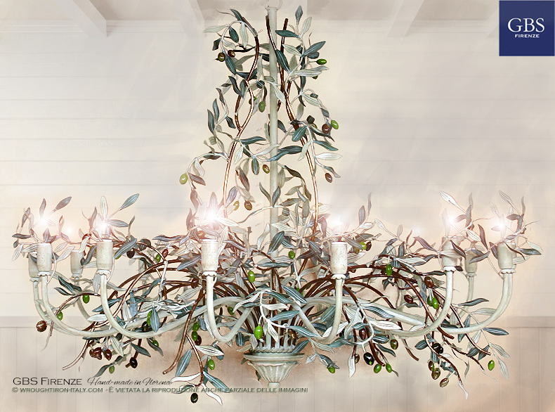 Olive 14-light Chandelier. Lampadari