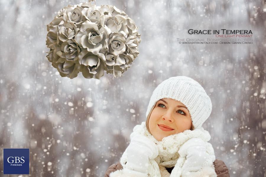 Grace. Pendant Light. Design: Gianni Cresci