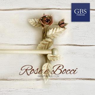 Bagno rose e bocci portasciugamani gbs firenze casa - Appendiabiti da bagno ...