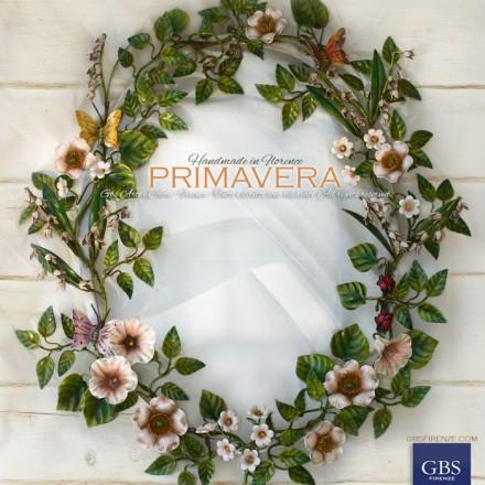 Specchio Primavera. Per la camera da letto Romantica. Per il bagno o la sala