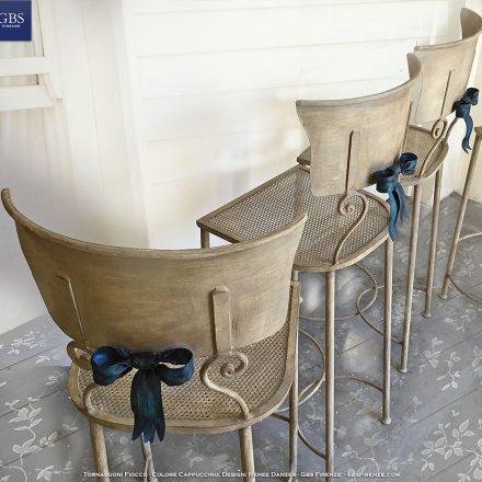 Sedia Sgabello Tornabuoni Fiocco - Per la cucina e per gli altri ambienti della casa